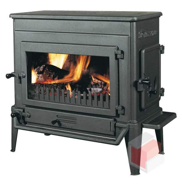 Krbová kamna na dřevo a uhlí litinová 310 GX - Dovre