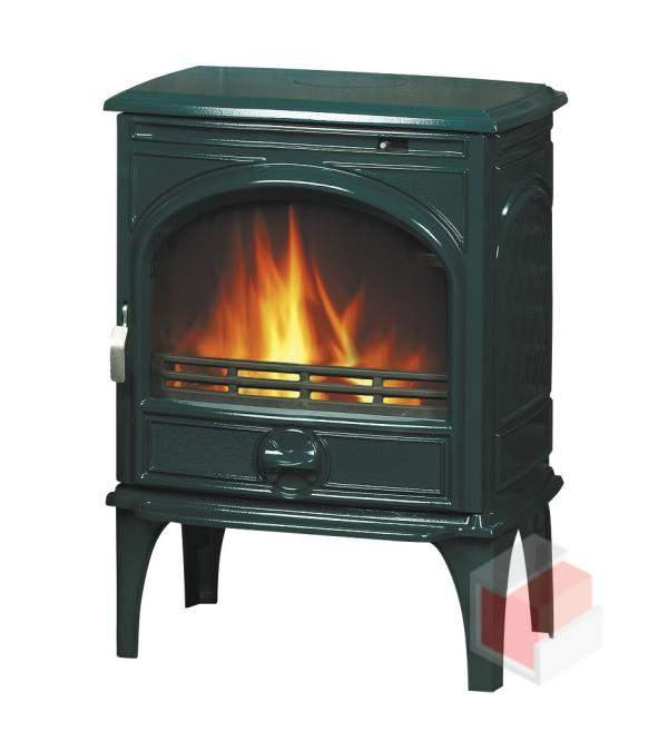 Krbová kamna na dřevo a uhlí litinová 425 GM - Dovre