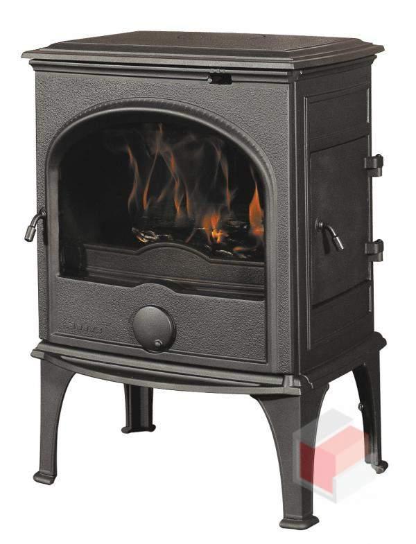 Krbová kamna na dřevo a uhlí litinová 555 GM - Dovre