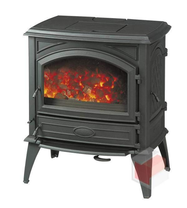 Krbová kamna na dřevo a uhlí litinová 640 GM - Dovre