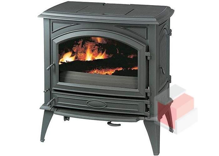 Krbová kamna na dřevo a uhlí litinová 760 GM - Dovre
