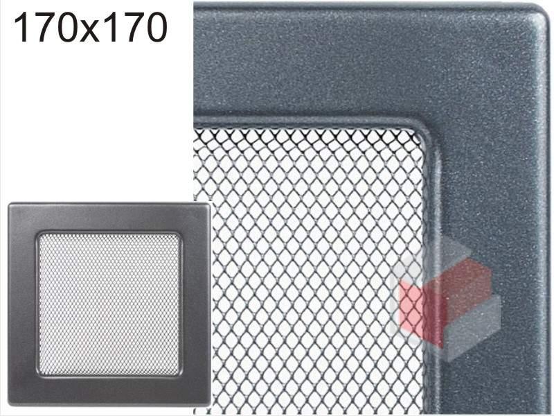 Krbová mřížka grafitová G 170x170