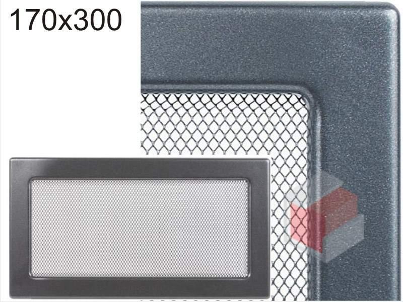 Krbová mřížka grafitová G 170x300