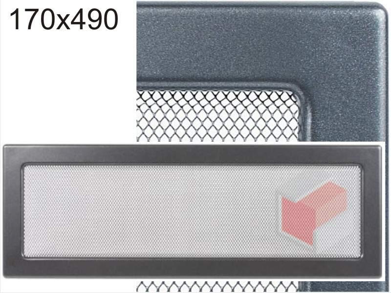 Krbová mřížka grafitová G 170x490