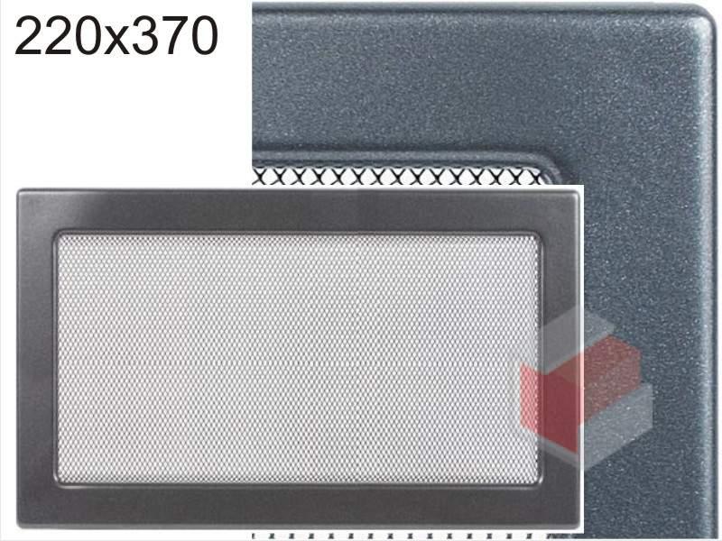 Krbová mřížka grafitová G 220x370