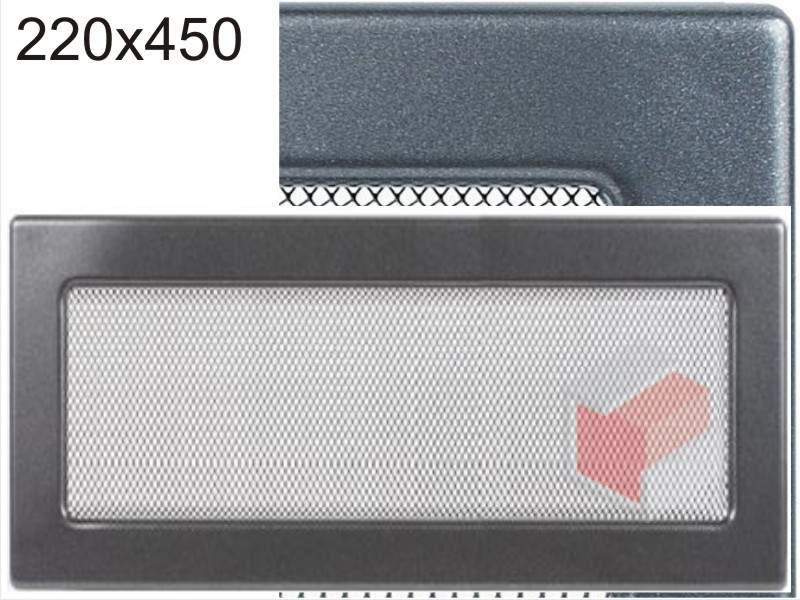 Krbová mřížka grafitová G 220x450