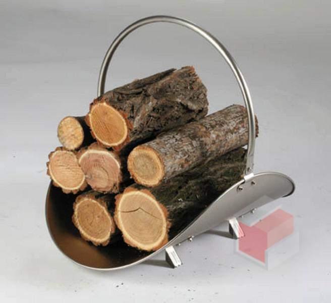 Koš na dřevo VALI-6 pro kamna a krby