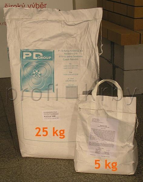 Kamnářský tmel, lepidlo Rudomal 1100 /25kg