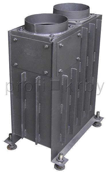 Teplovzdušný výměník KOBOK Vertikal 50 3 kW H160/B180