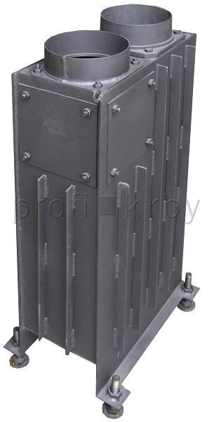 Teplovzdušný výměník KOBOK Vertikal 75 4 kW H180/B180