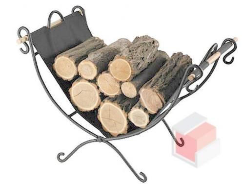 Koš na dřevo M-6 pro krbová kamna