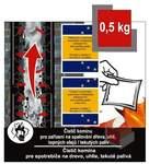 Čistič komínů - čistící sáčky 0.5 kg