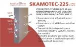 Izolační deska - Skamotec 225 tloušťka 50 rozměr 1000x610x50 mm