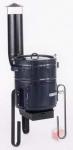 Thorma kotlíková souprava 15 l - černá - ohřívač vody na dřevo