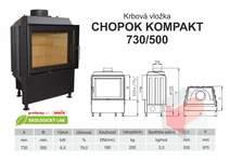 Krbová vložka KOBOK KOMPAKT 730 500