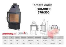 Krbová vložka KOBOK - prizmatické sklo ĎUMBIER 670/500