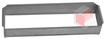 Vložka ZADNÍ RÁMEČEK 11x32 pro krbovou mřížku 110x320  mm