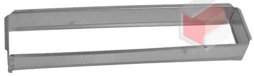 Vložka ZADNÍ RÁMEČEK 11x42 pro krbovou mřížku 110x420  mm