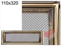 Krbová mřížka rustikální R 110x320