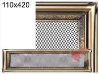 Krbová mřížka rustikální R 110x420
