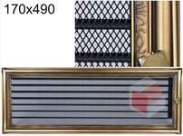 Krbová mřížka rustikální s žaluzií RZ 170x490