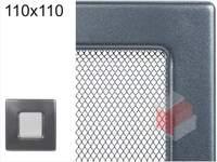 Krbová mřížka grafitová G 110x110