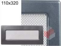 Krbová mřížka grafitová G 110x320