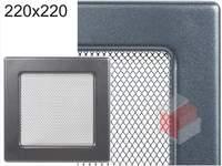 Krbová mřížka grafitová G 220x220