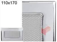 Krbová mřížka poniklovaná 110x170