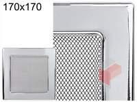 Krbová mřížka poniklovaná 170x170