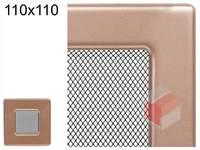 Krbová mřížka lakovaná měď 110x110