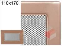 Krbová mřížka lakovaná měď 110x170