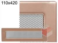 Krbová mřížka lakovaná měď 110x420