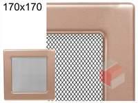 Krbová mřížka lakovaná měď 170x170