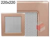 Krbová mřížka lakovaná měď  220x220