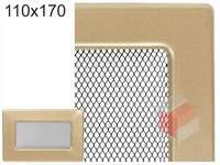 Krbová mřížka lakovaná zlatá 110x170