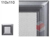 Krbová mřížka Oskar grafit 110x110