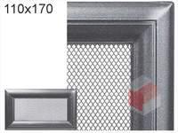 Krbová mřížka Oskar grafit 110x170