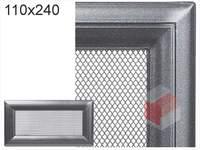 Krbová mřížka Oskar grafit 110x240