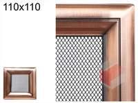 Krbová mřížka Oskar měď 110x110