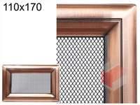 Krbová mřížka Oskar měď 110x170
