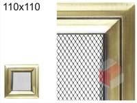 Krbová mřížka Oskar zlato 110x110