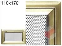 Krbová mřížka Oskar zlato 110x170