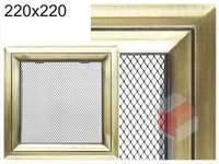 Krbová mřížka Oskar zlato 220x220