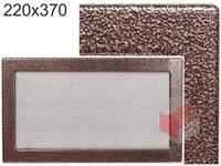Krbová mřížka stará měď - černoměděná  220x370