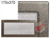 Krbová mřížka lakovaná černo-zlatá 170x370