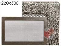 Krbová mřížka lakovaná černo-zlatá  220x300