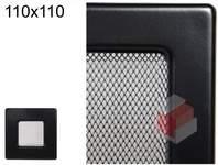 Krbová mřížka černá Č 110x110