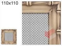 Krbová mřížka Diana zlatá 110x110