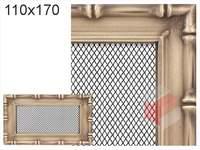 Krbová mřížka Diana zlatá 110x170